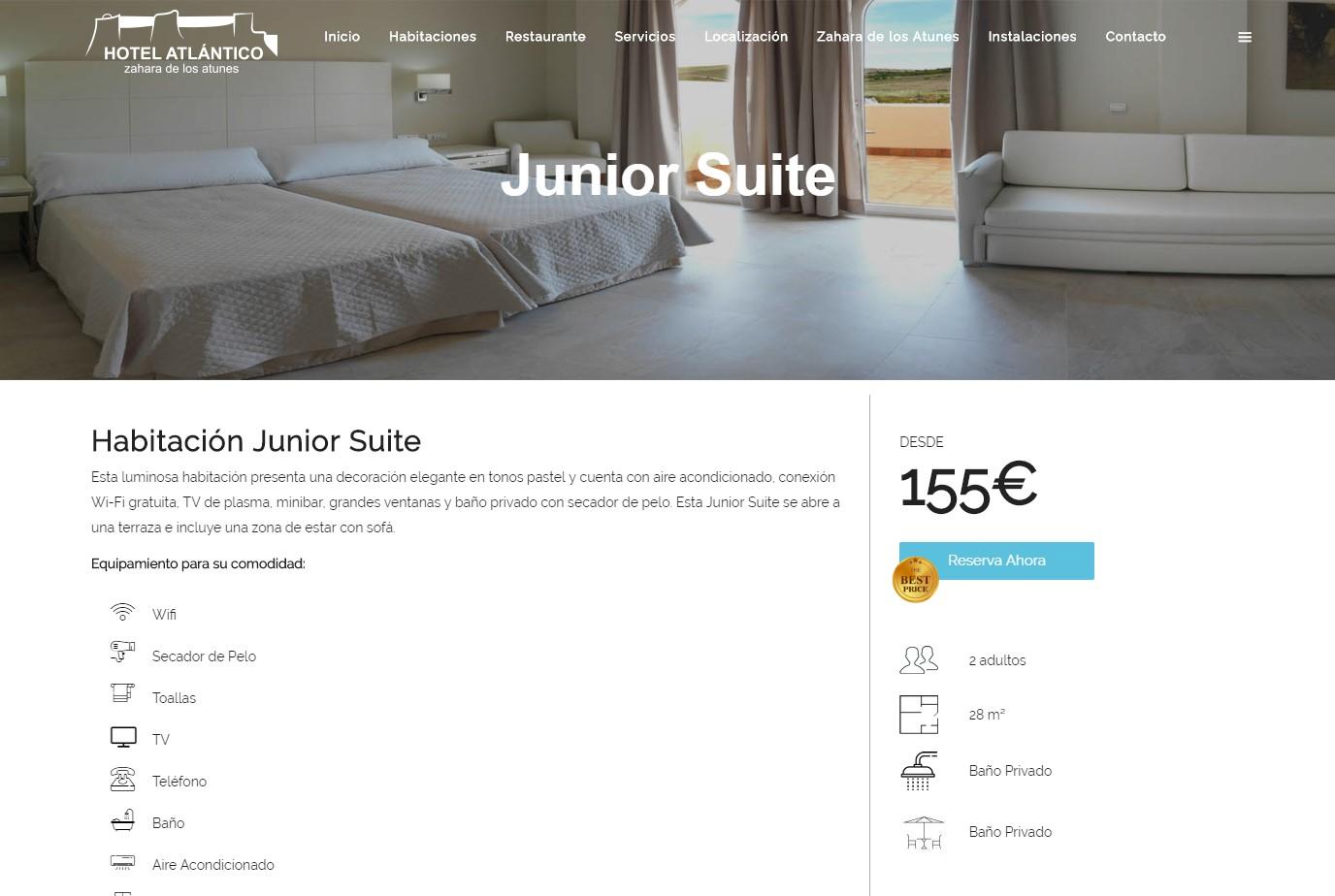 diseno web hotel