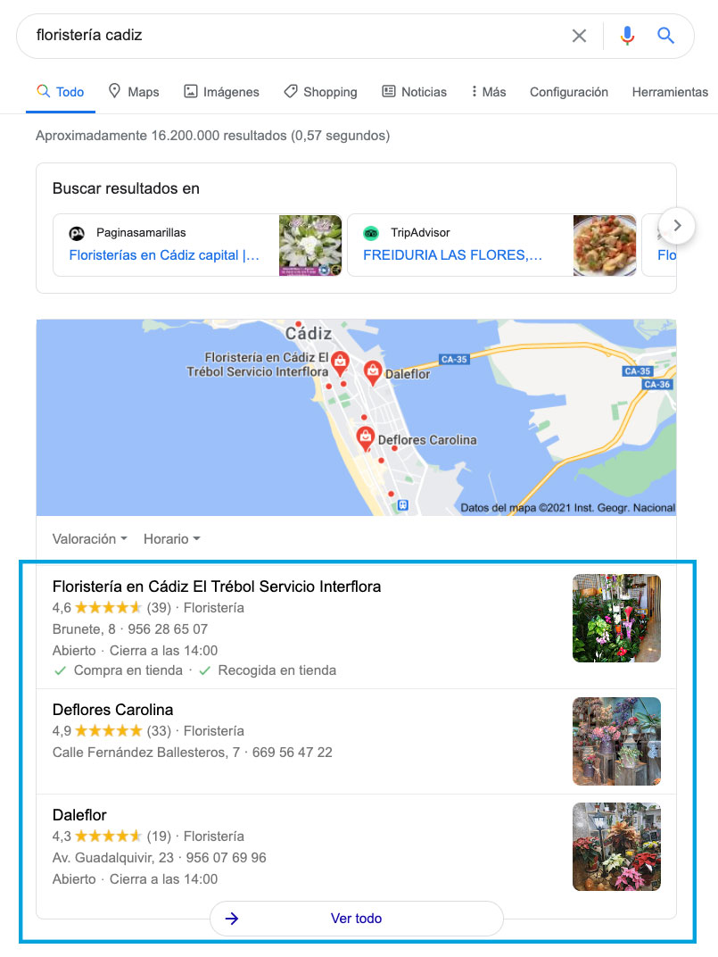 seo local google business
