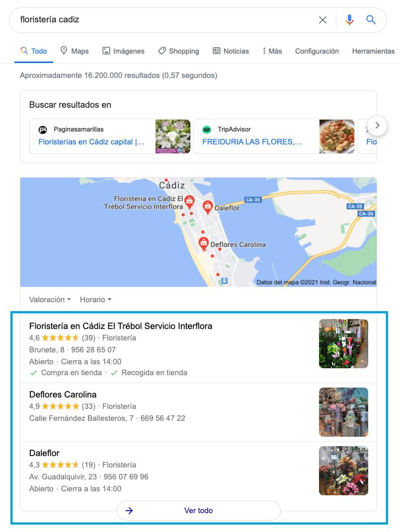 seo local google business