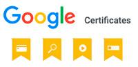 certificaciones google